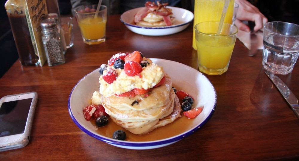 London Restaurants:  The Breakfast ClubLondon