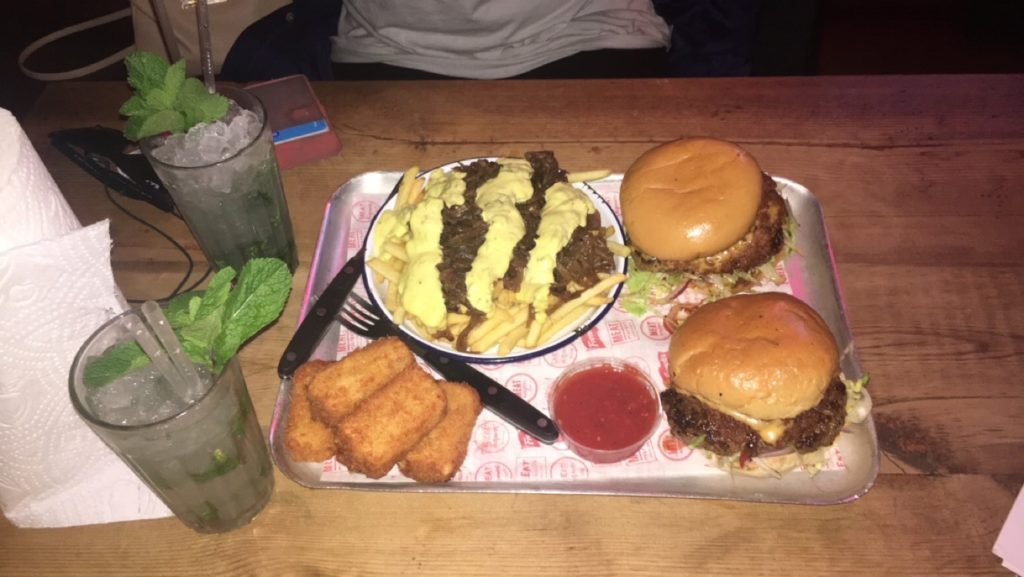 London Restaurants: Burger at Meat Liquor