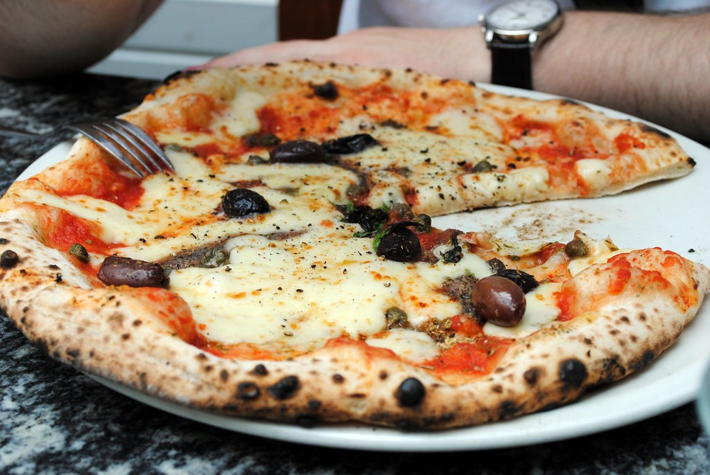 London Restaurants: Pizza at Franco Mance