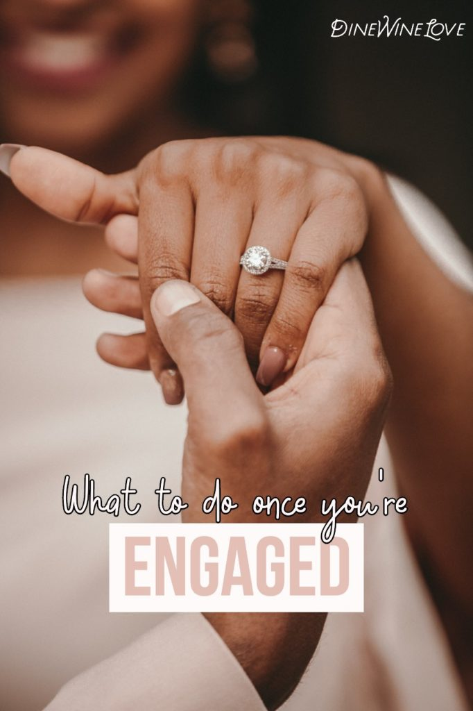 What do to once you're engaged