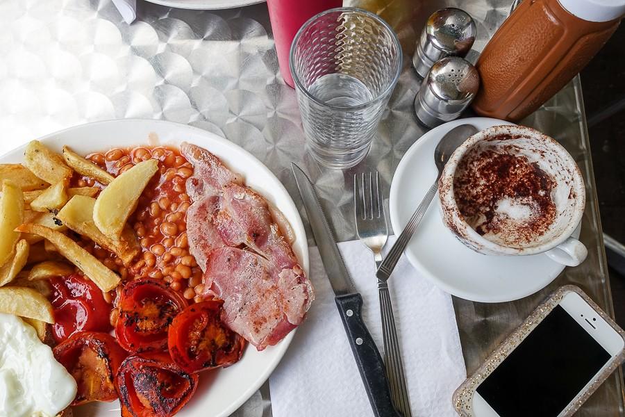 All-day food in London: E Pellicci