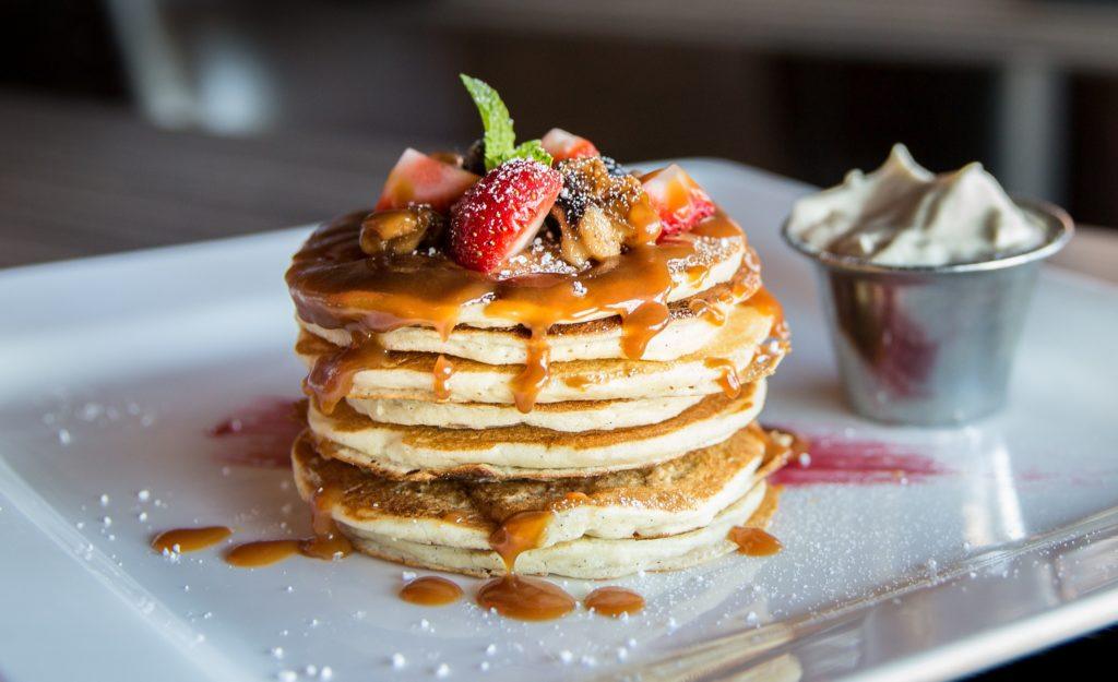 Brunch in Malta: Pancakes