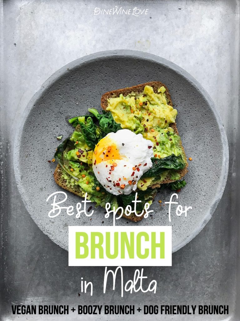 Looking for the best brunch in Malta? Check out my list of the top restaurants for brunch in Malta, including vegan brunch, boozy brunch and dog-friendly brunch!