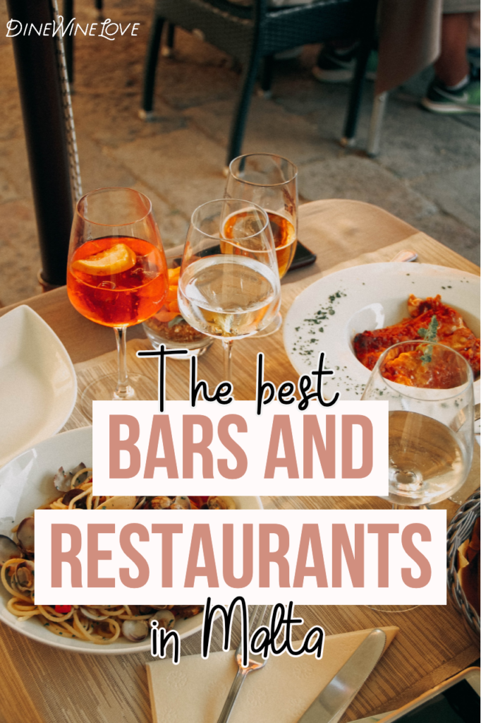Facts about Malta: the best Bars and Restaurants in Malta