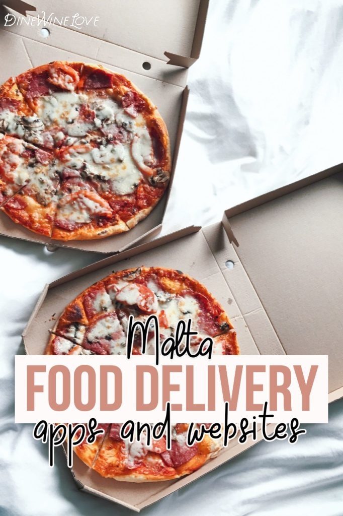 Apps and website for food delivery Malta