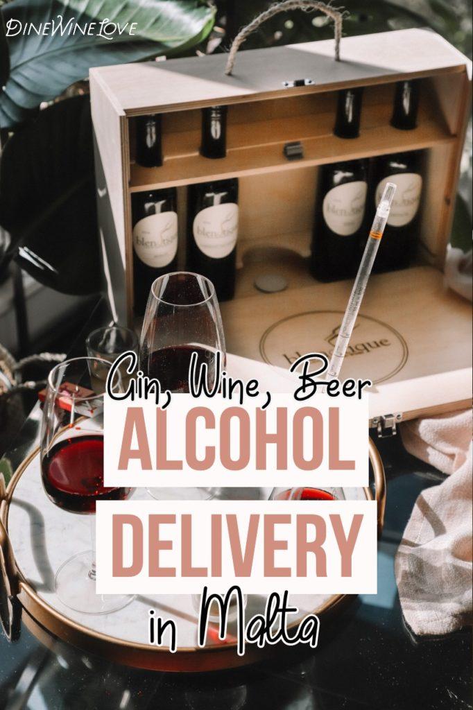 Alcohol Delivery Malta
