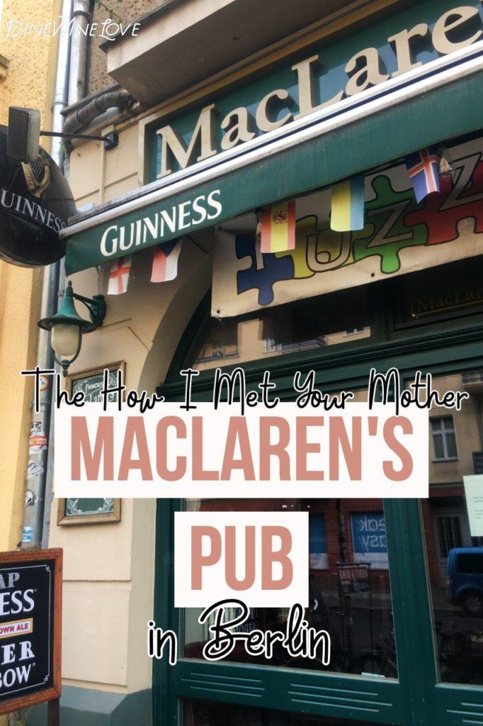 MacLaren's Pub in Berlin
