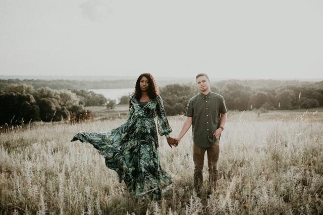 Engaged couple photoshoot