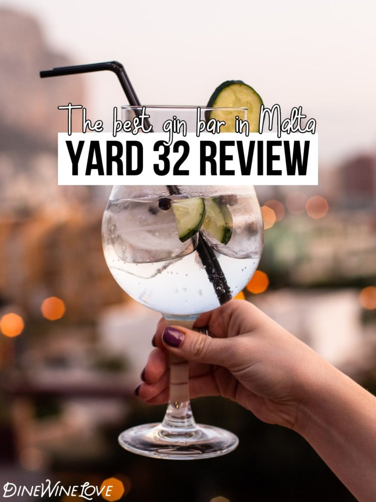 Yard 32 Review, gin and tonic