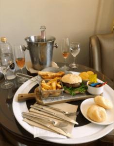 Room service at Gran Hotel Conde Duque