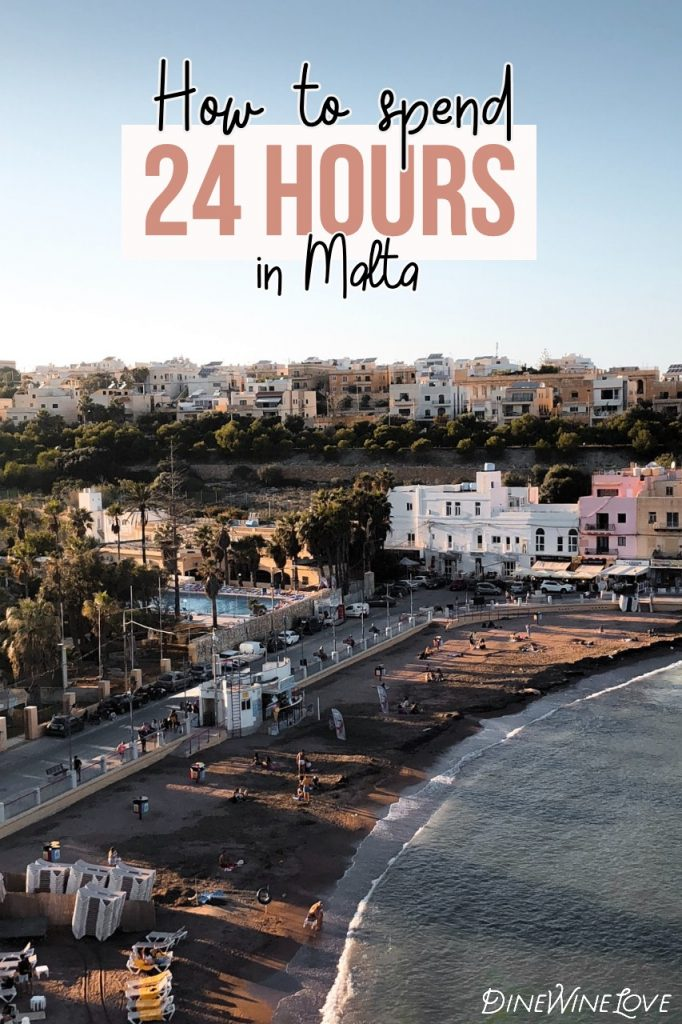 how to spend 24 hours in Malta