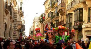 Maltese Carnival in Valletta
