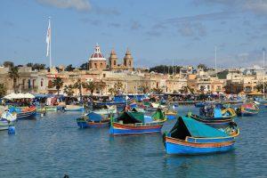 Marsaxlokk boats