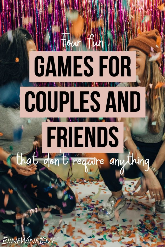 Four games for couples and friends