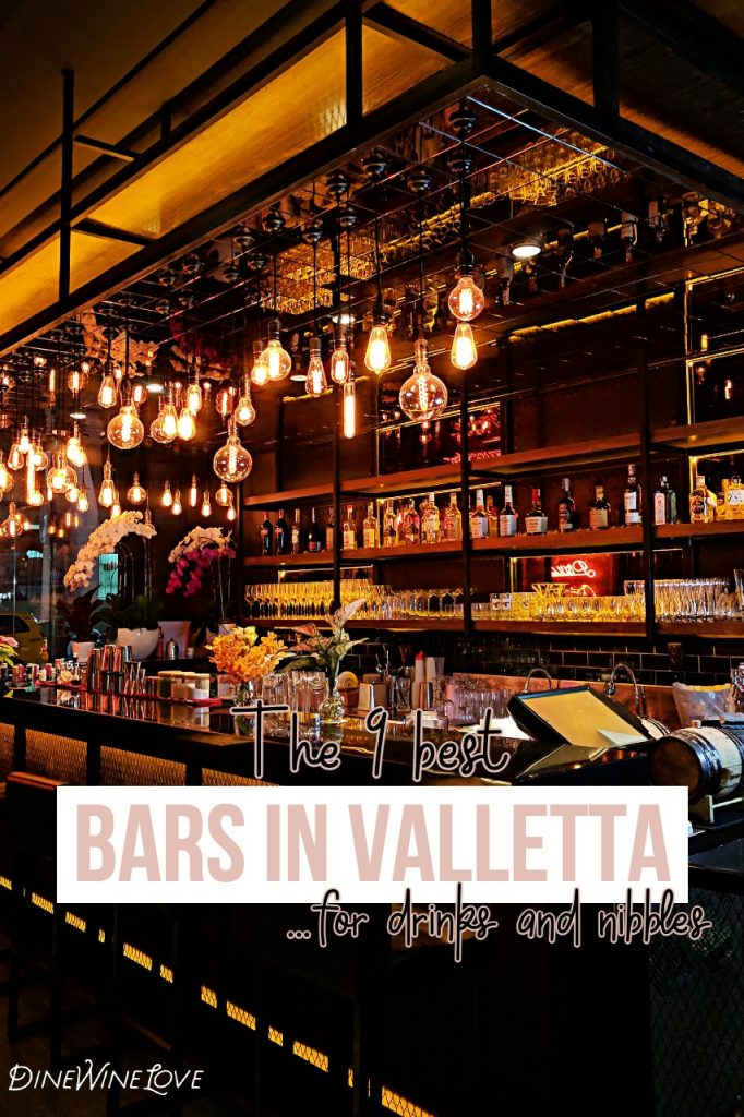The 9 best bars in Valletta, by DineWineLove