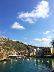 Xlendi Bay, Gozo (by day)