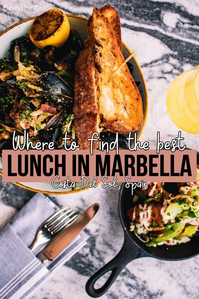 Best lunch in Marbella