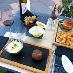 Food and drinks at Irrazional restaurant