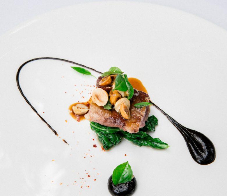 Michelin restaurant dish