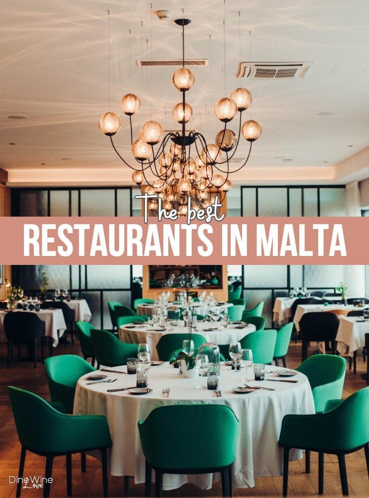Best restaurants in Malta by DineWineLove