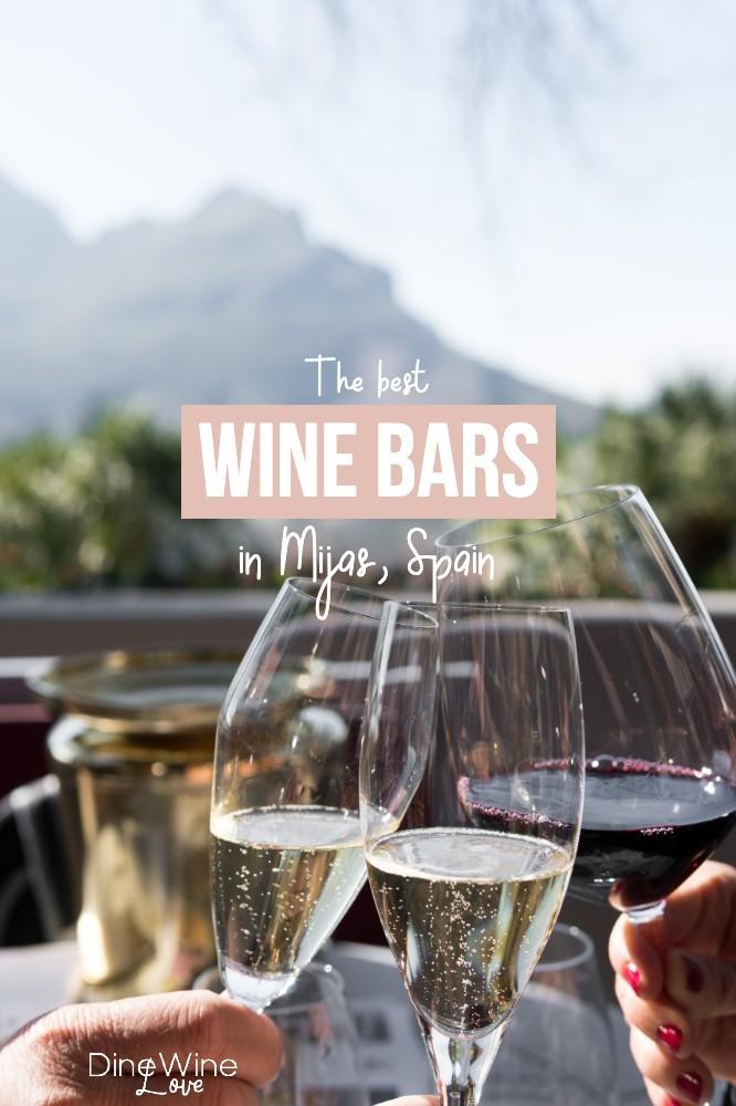 best wine bars in Mijas